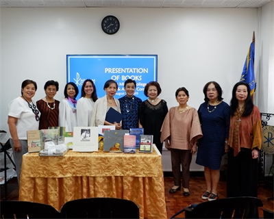 Precious Works donated to the Authors Corner