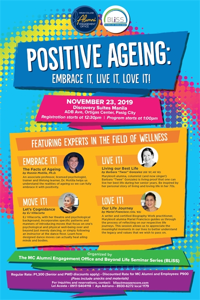 Positive Ageing – There is such a thing!