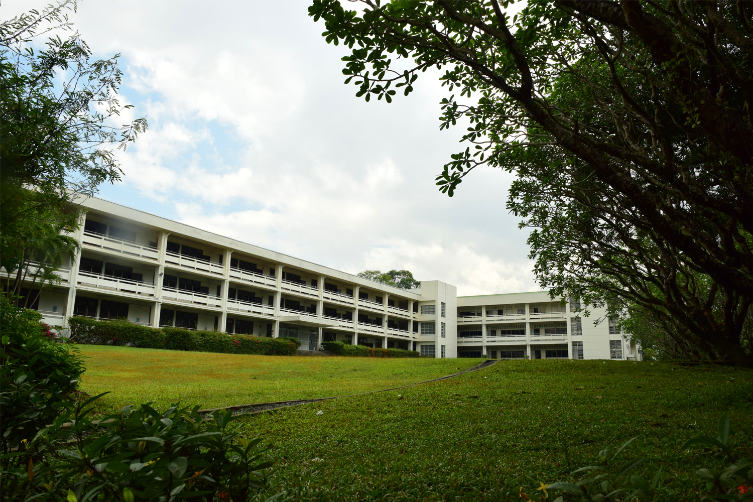 High School Building