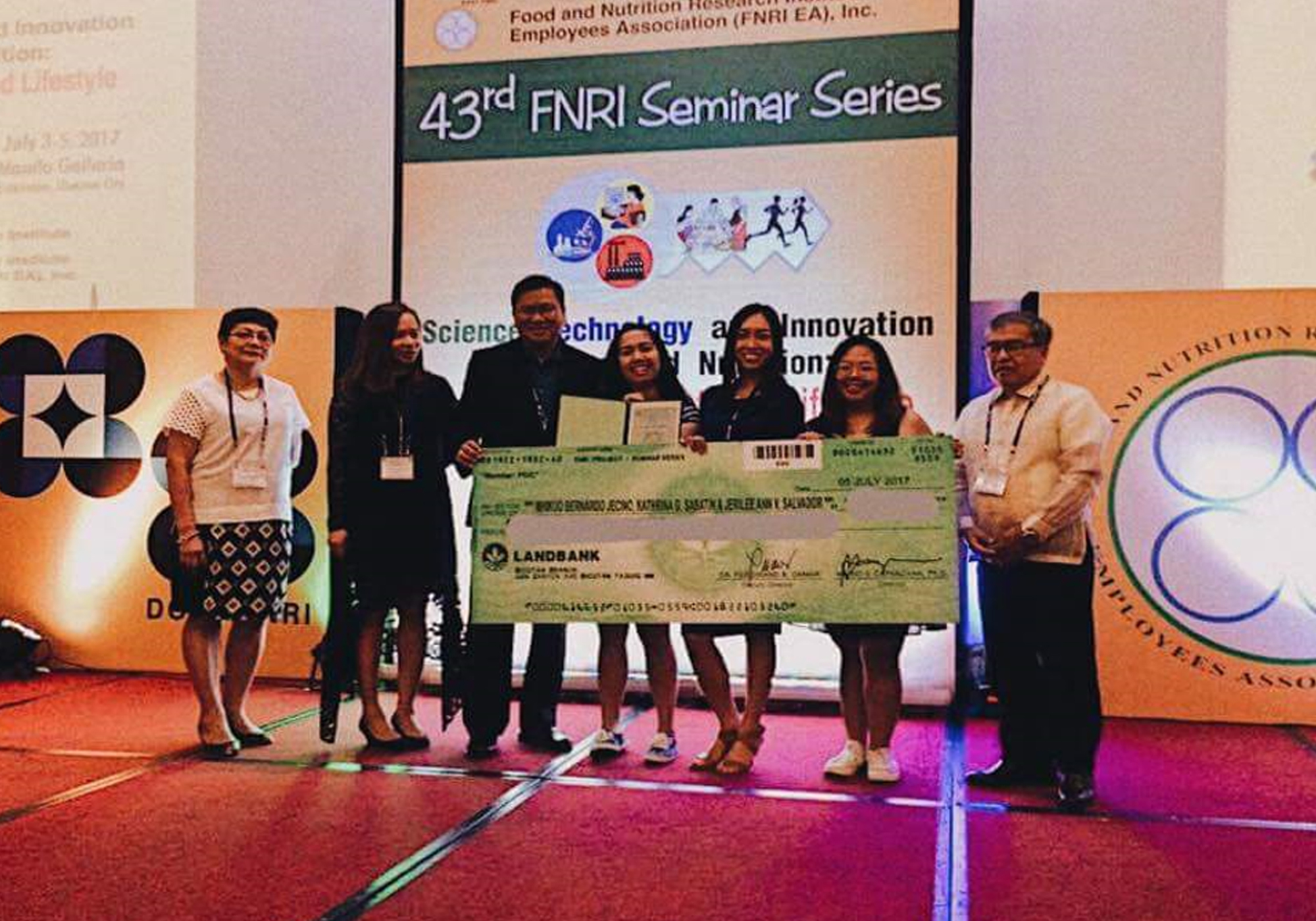 Communication students named champions in DOST-FNRI short film competition