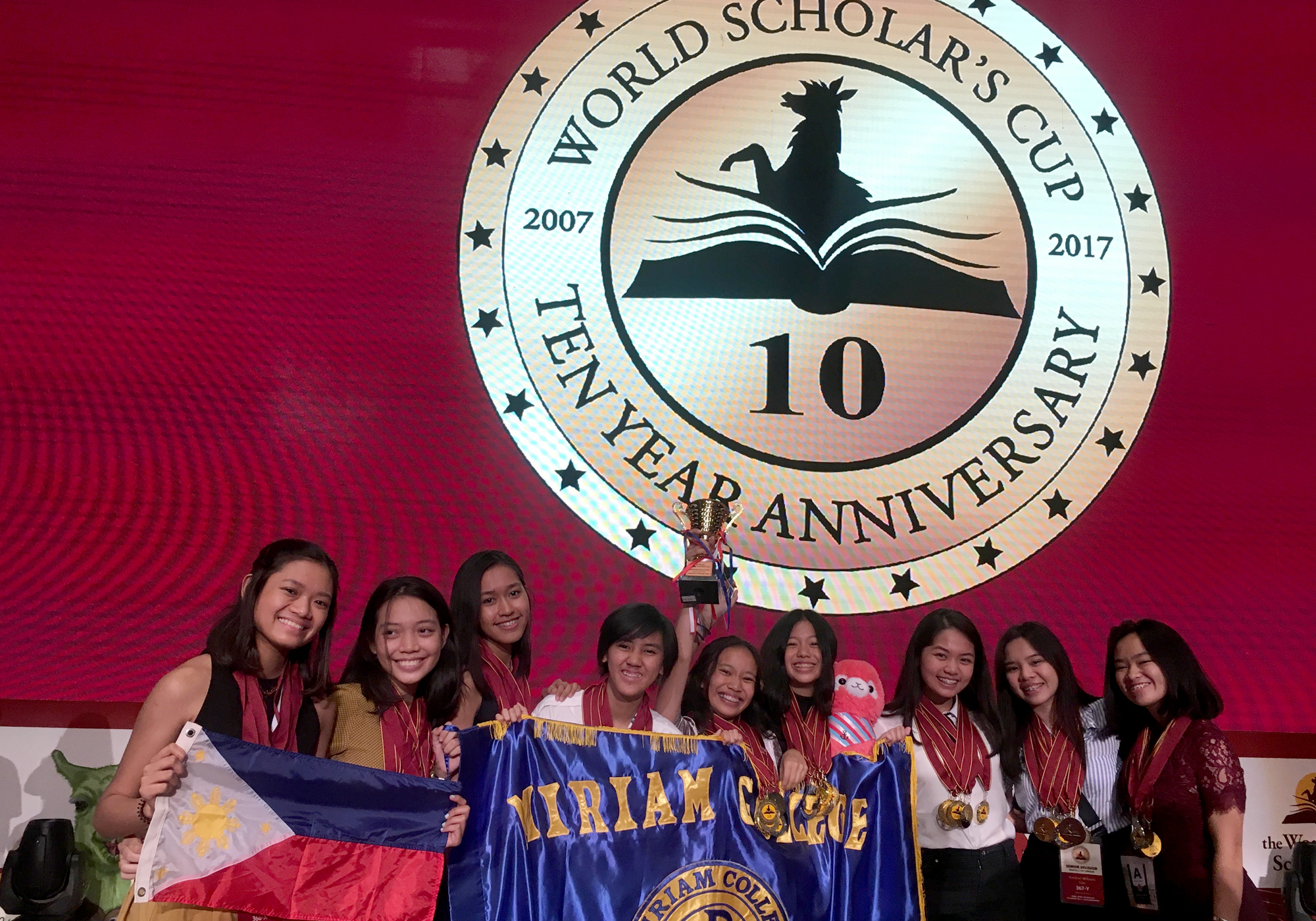 Miriam College Students shine in the global round of the World Scholar's Cup | Philippine Daily Inquirer