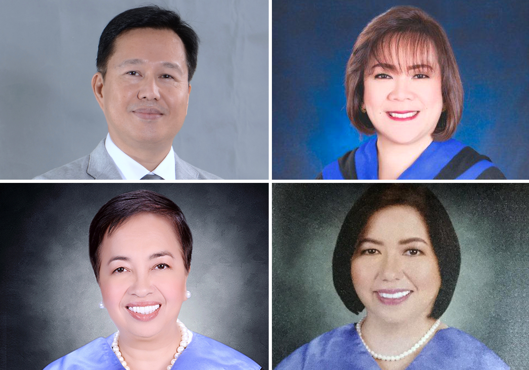 Four MC administrators complete PhDs