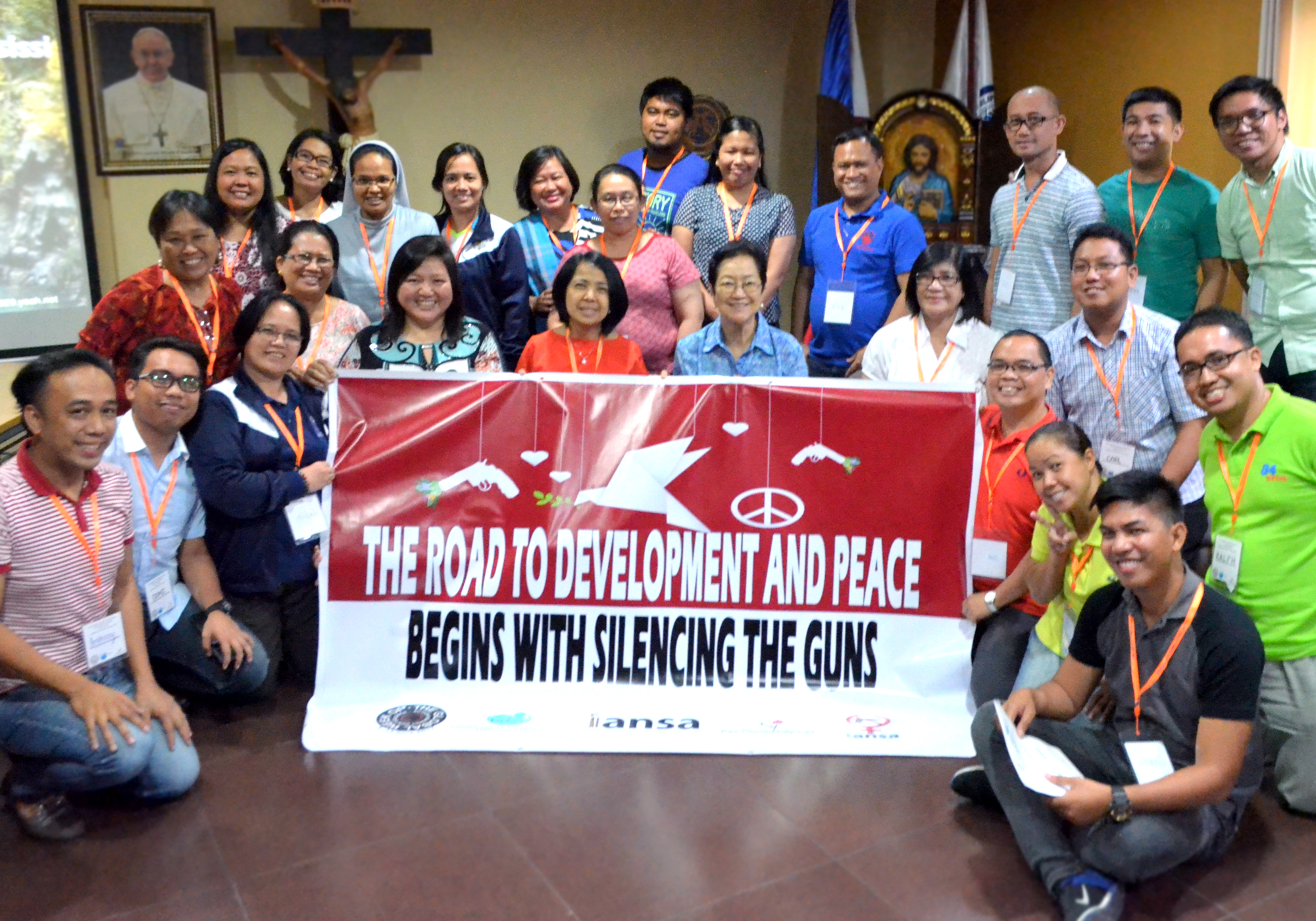CPE joins global campaigns to end gun violence, ban nuclear weapons; conducts workshops on nonviolence