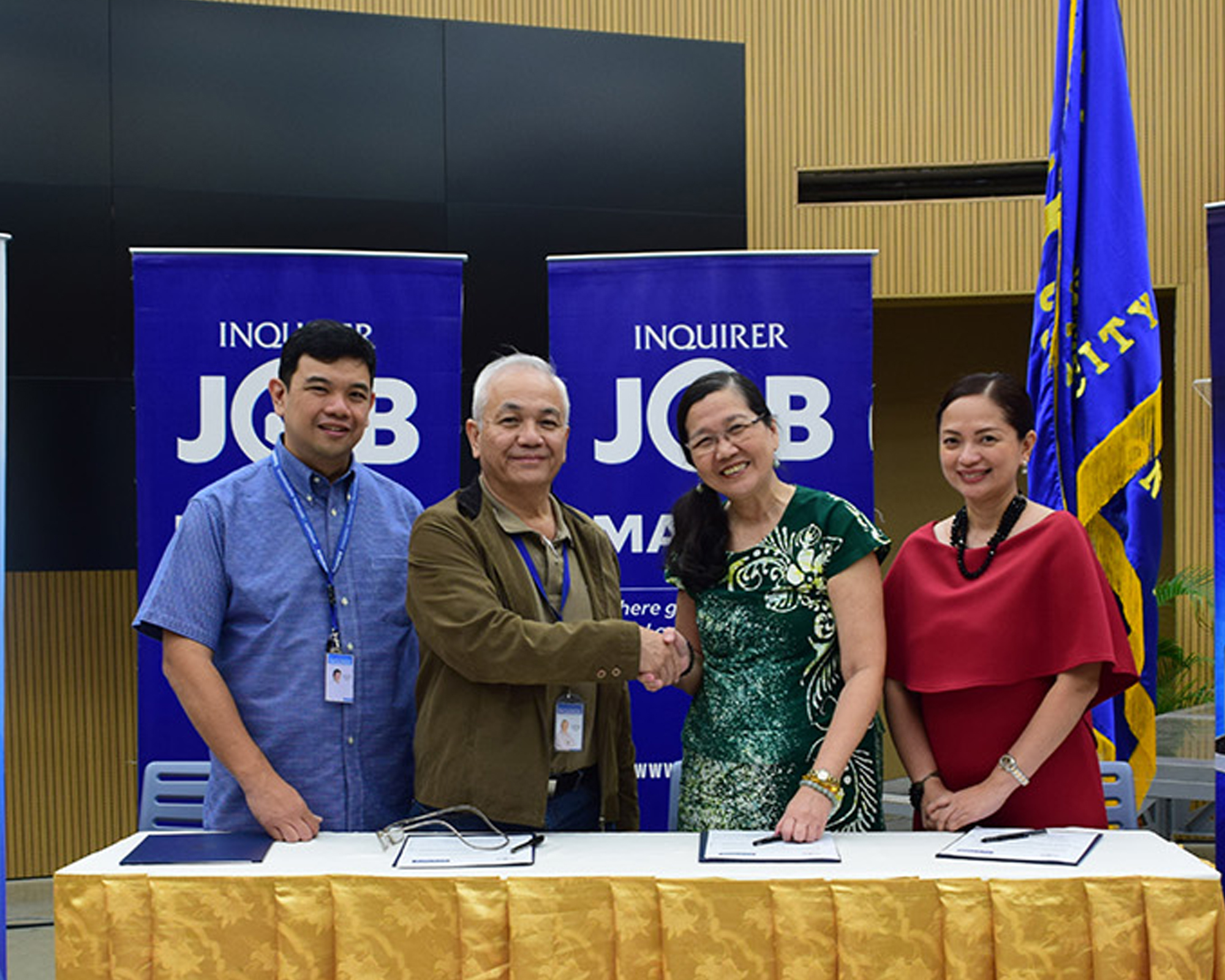 MC signs MOA with Philippine Daily Inquirer