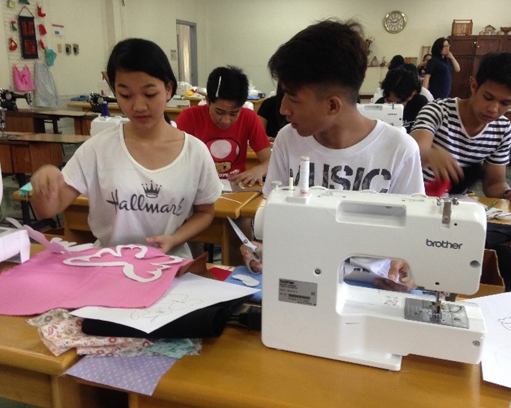 MCMS holds sewing workshop for youth leaders