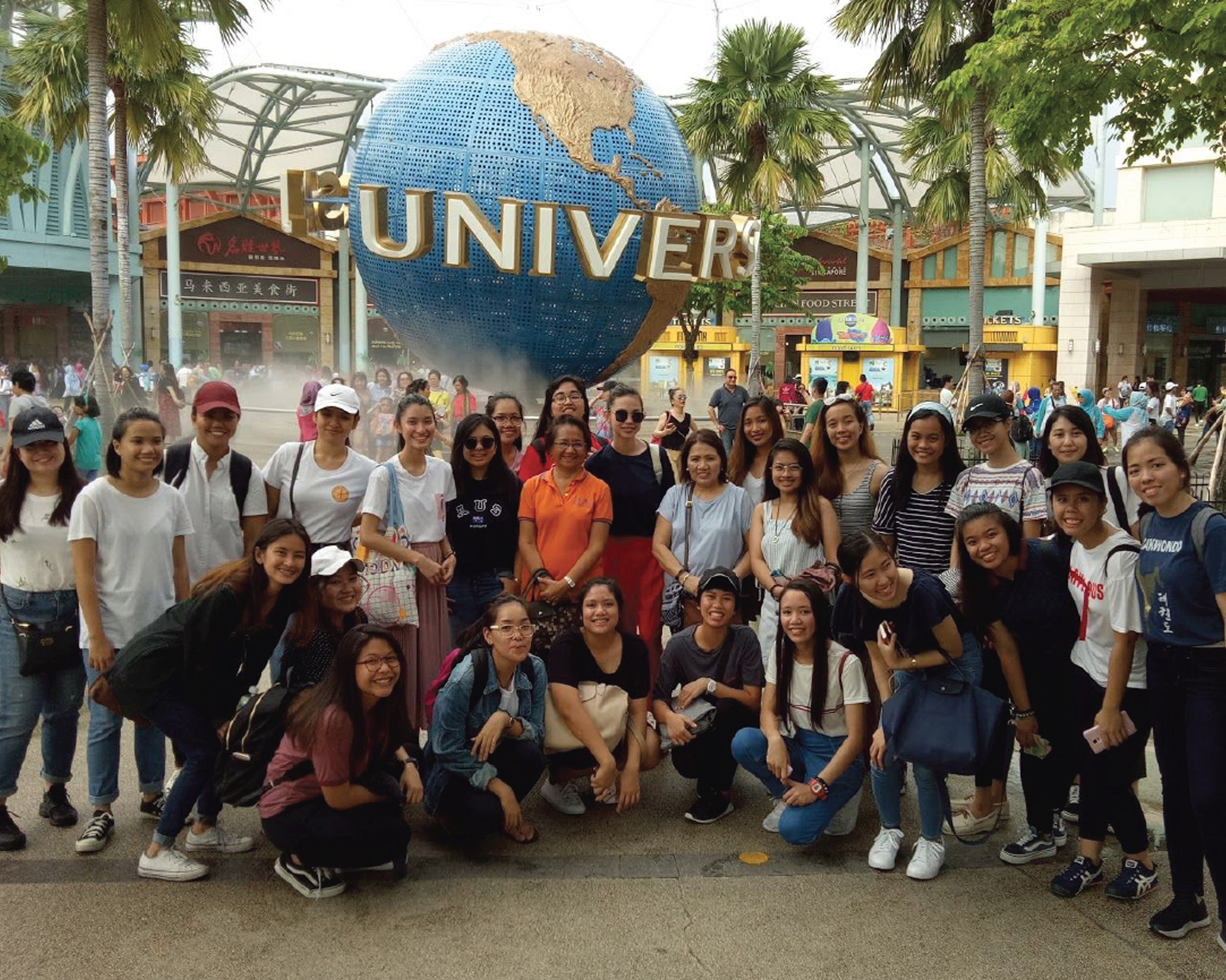 EPM students join study tour in Singapore
