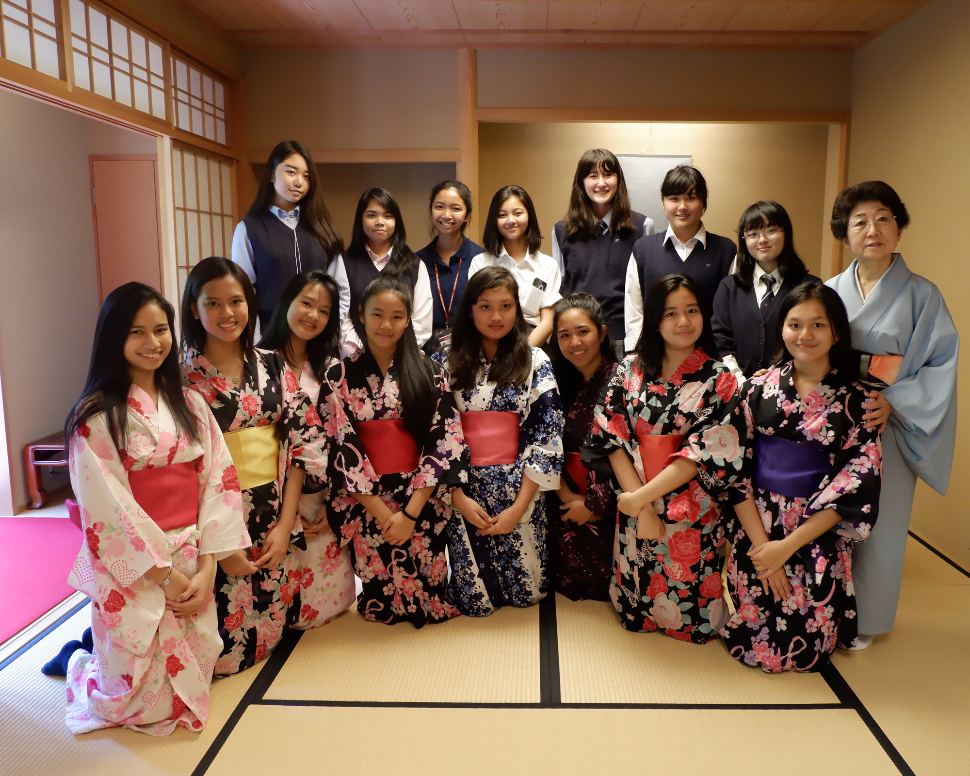 MCHS, MCN students learn Japanese culture, history, and language