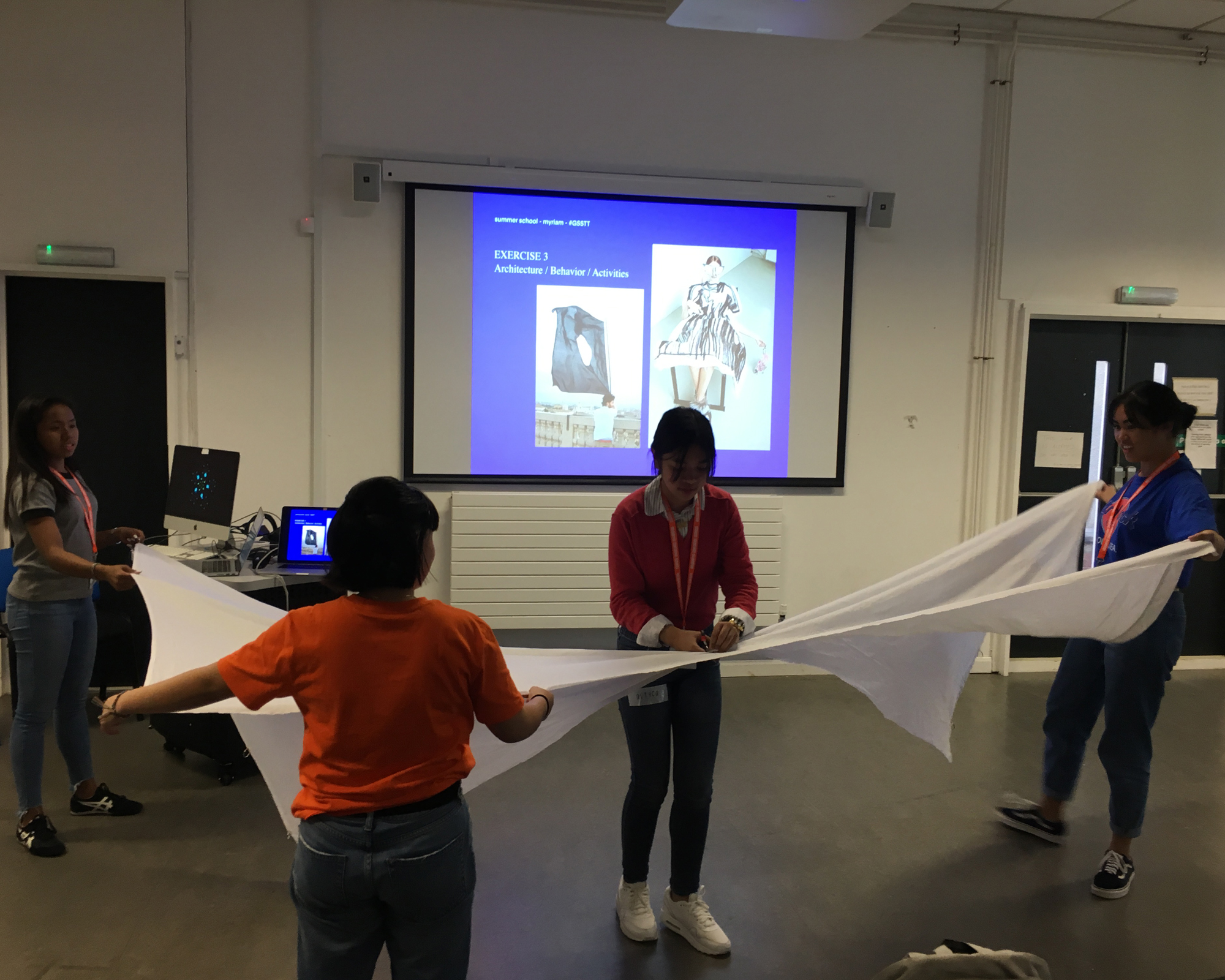 MCHS students learn, apply design thinking in workshop at Goldsmiths