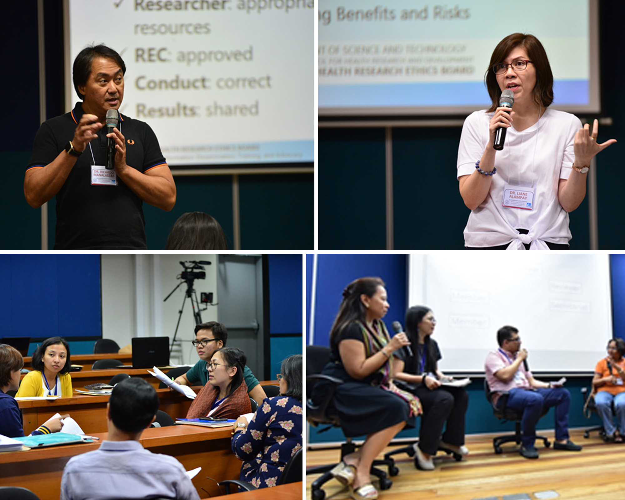 PHREB conducts Research Ethics Training in MC
