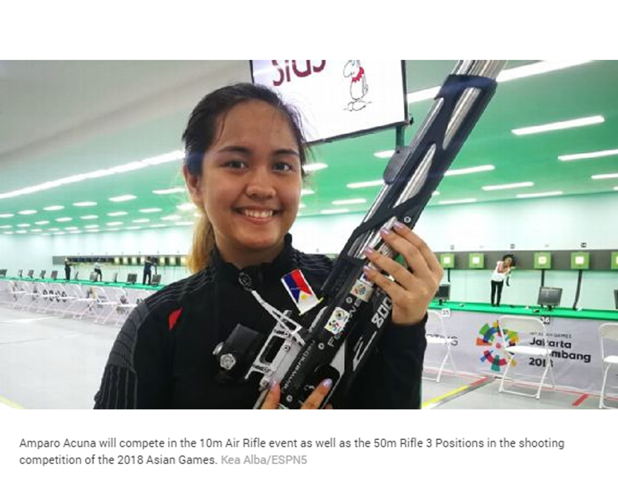 Top PH rifle shooters all set to see action Monday by Yoyo Sarmenta | ESPN