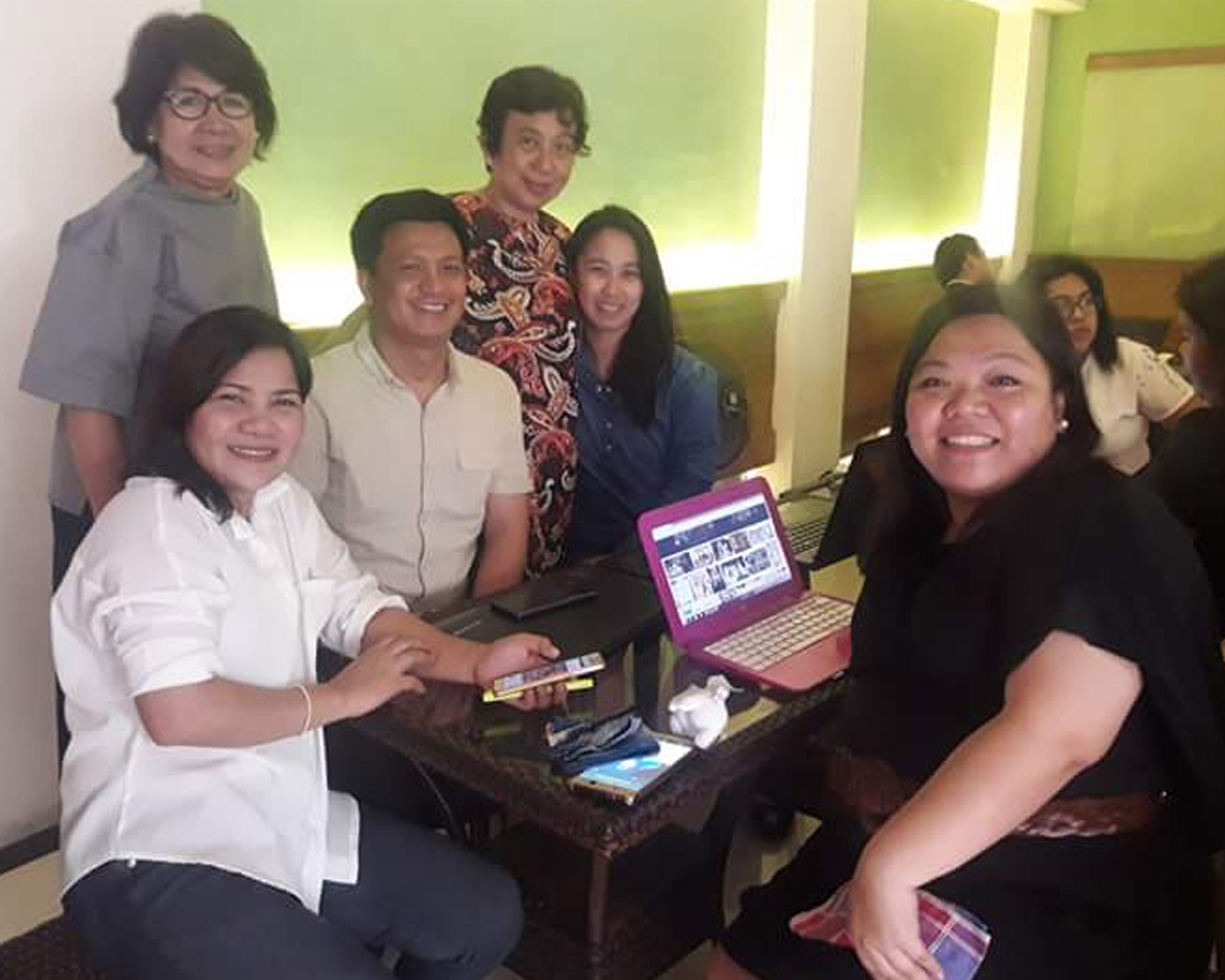 MAE core, volunteer faculty receive NC III for TESDA Events Management course