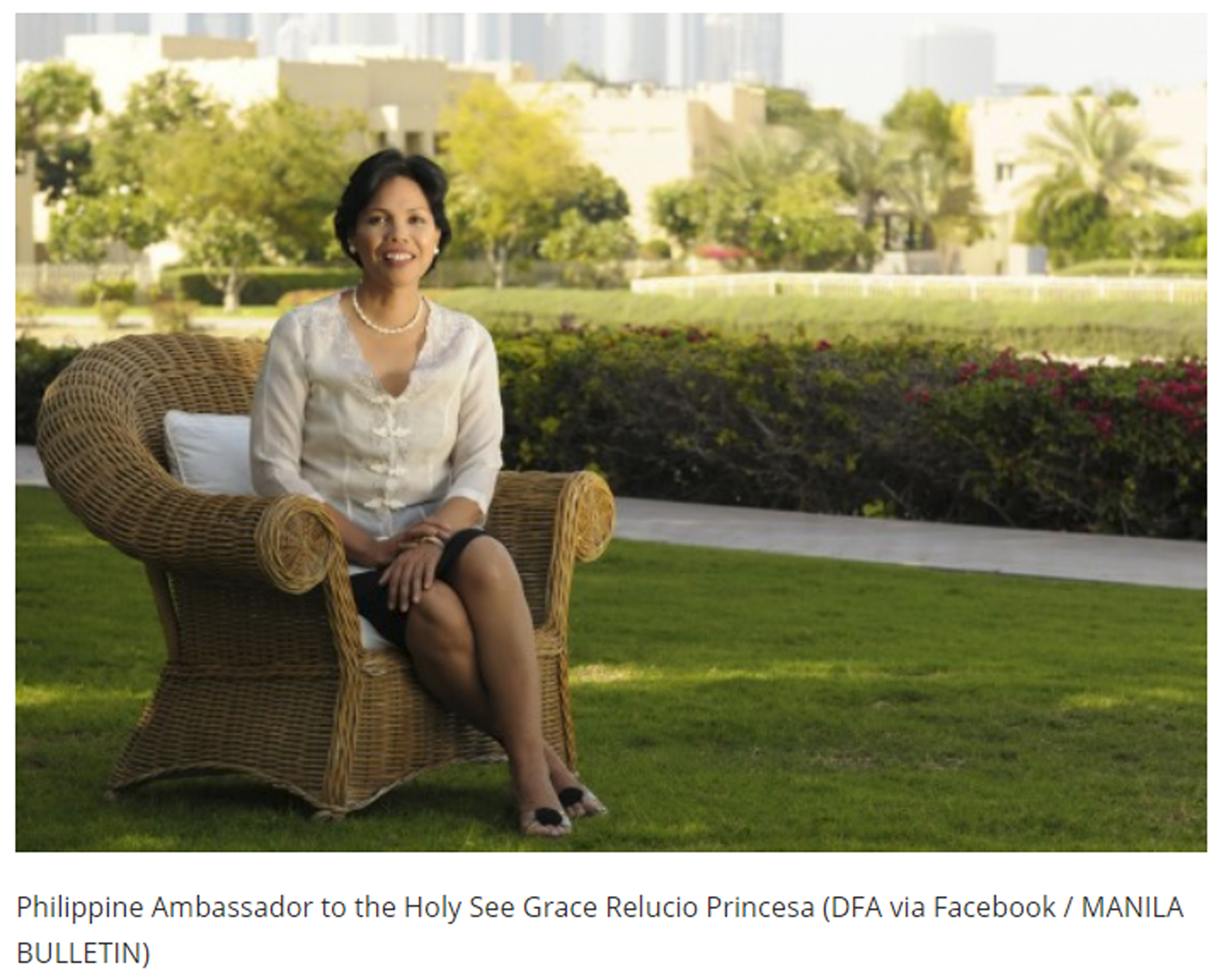 PH ambassador to the Holy See Grace Relucio Princesa assumes post by Leslie Ann Aquino | Manila Bulletin