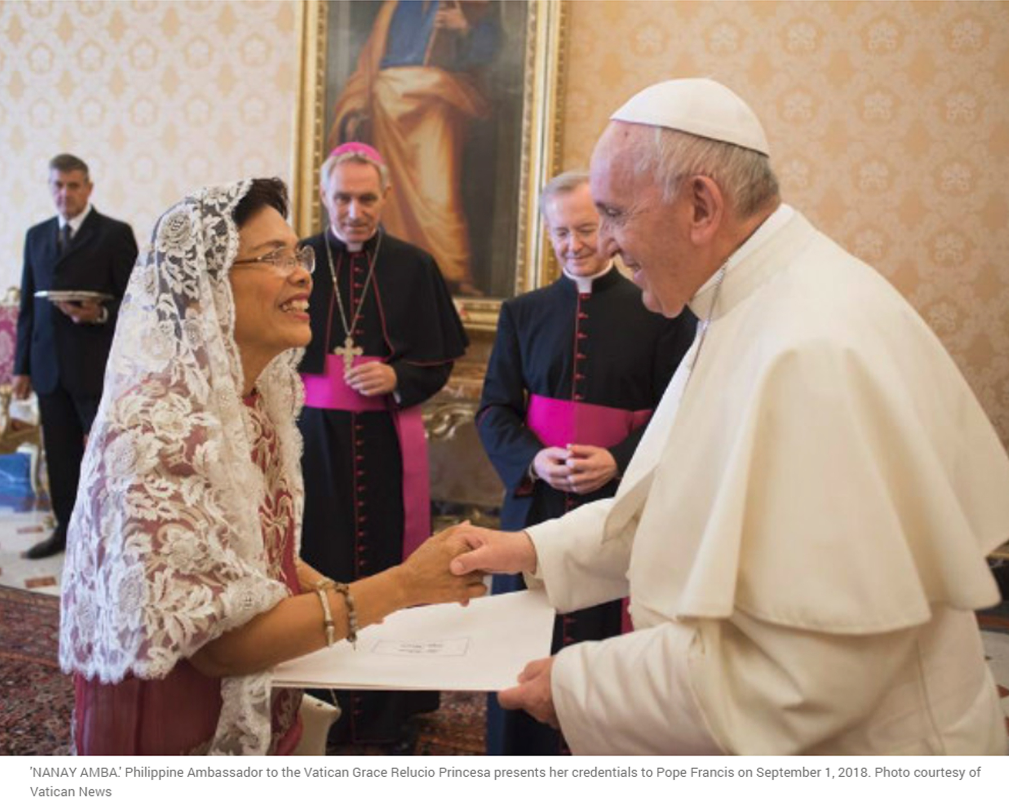Lolo Kiko with Nanay Amba: Pope meets new PH envoy to Vatican | Rappler