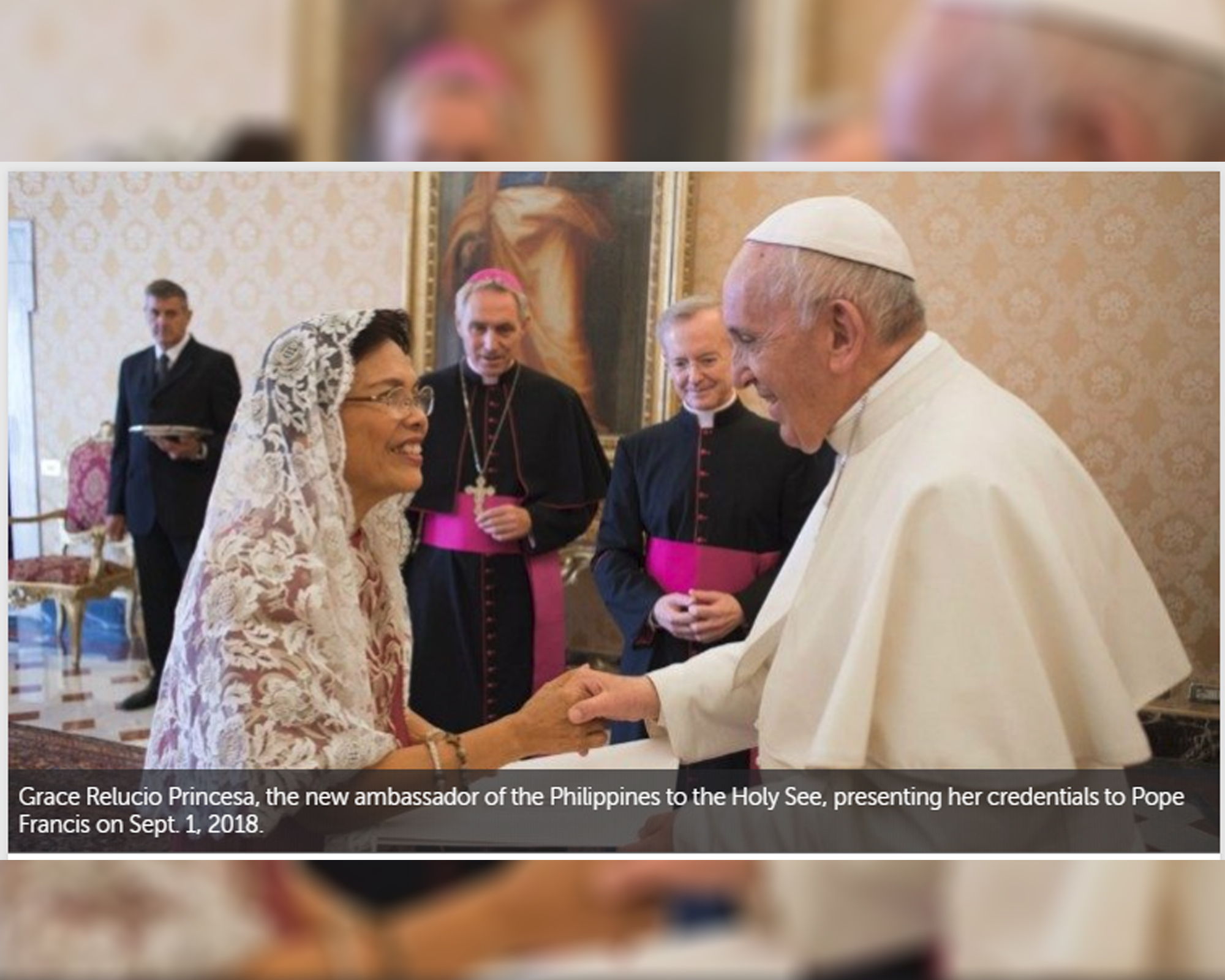 New Philippine ambassador to Holy See begins her mission by Robin Gomes | Vatican News