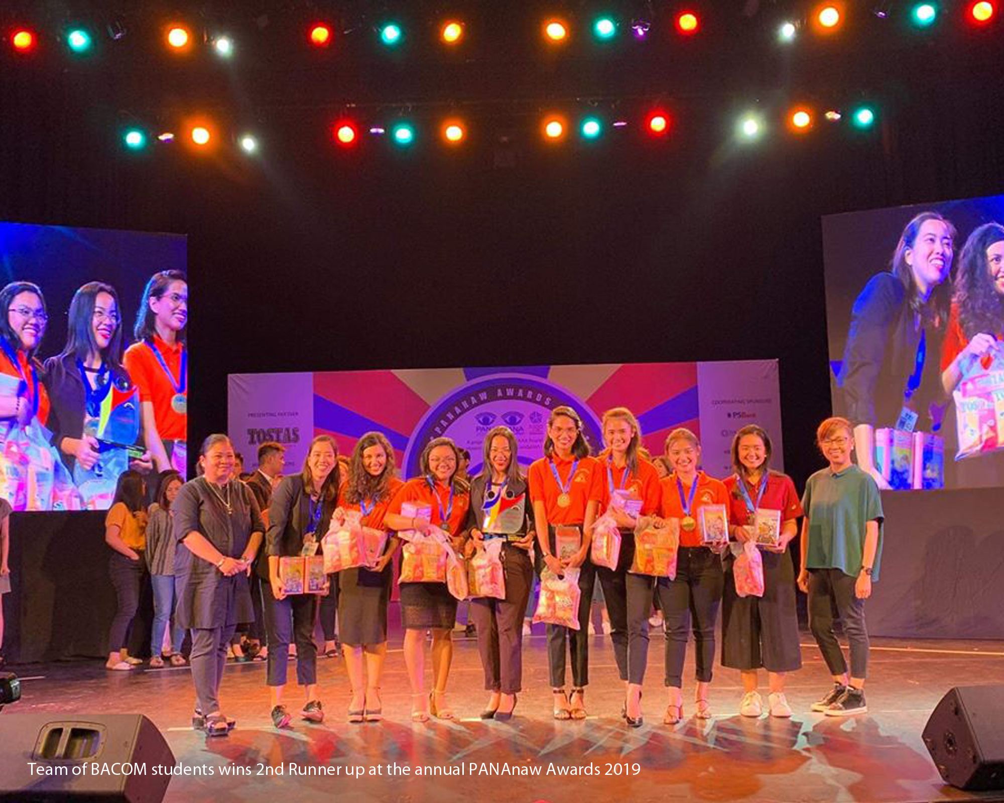 BA Communication students win 2nd runner up in PANAnaw Awards 2019