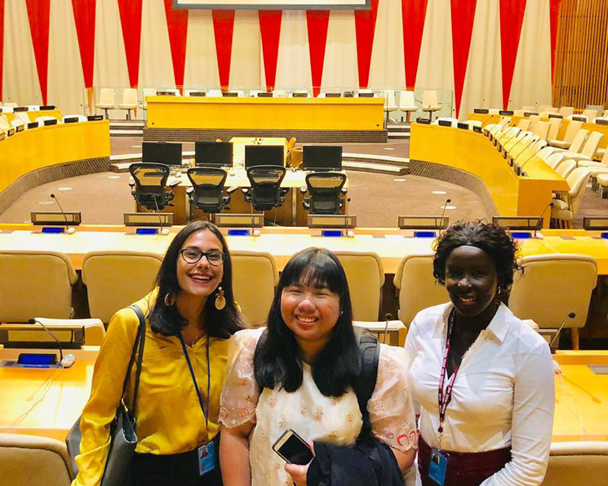 Alumna Sophia Dianne C. Garcia urges stronger UN action to protect women
