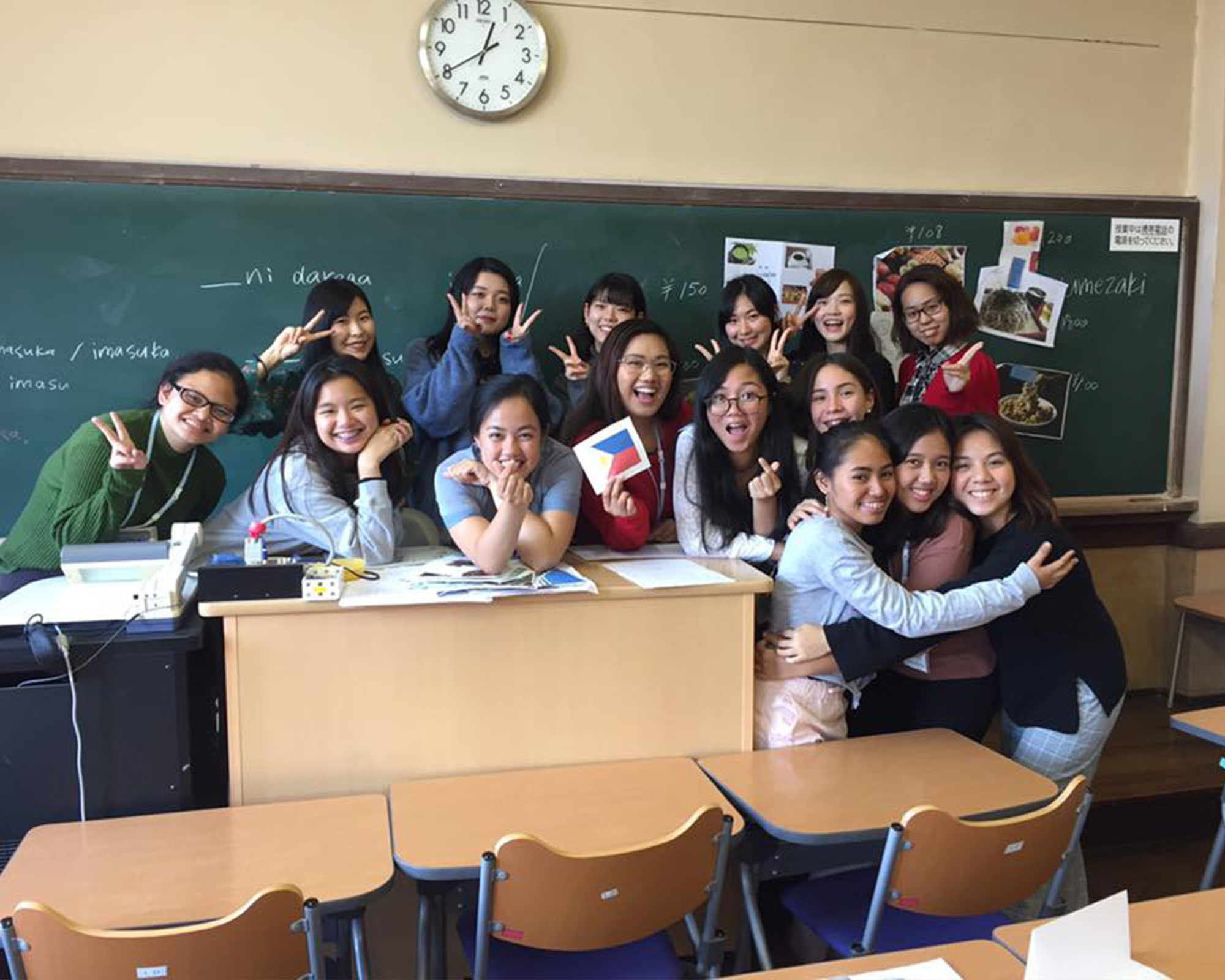 Communication, IS students participate in exchange program in Japan