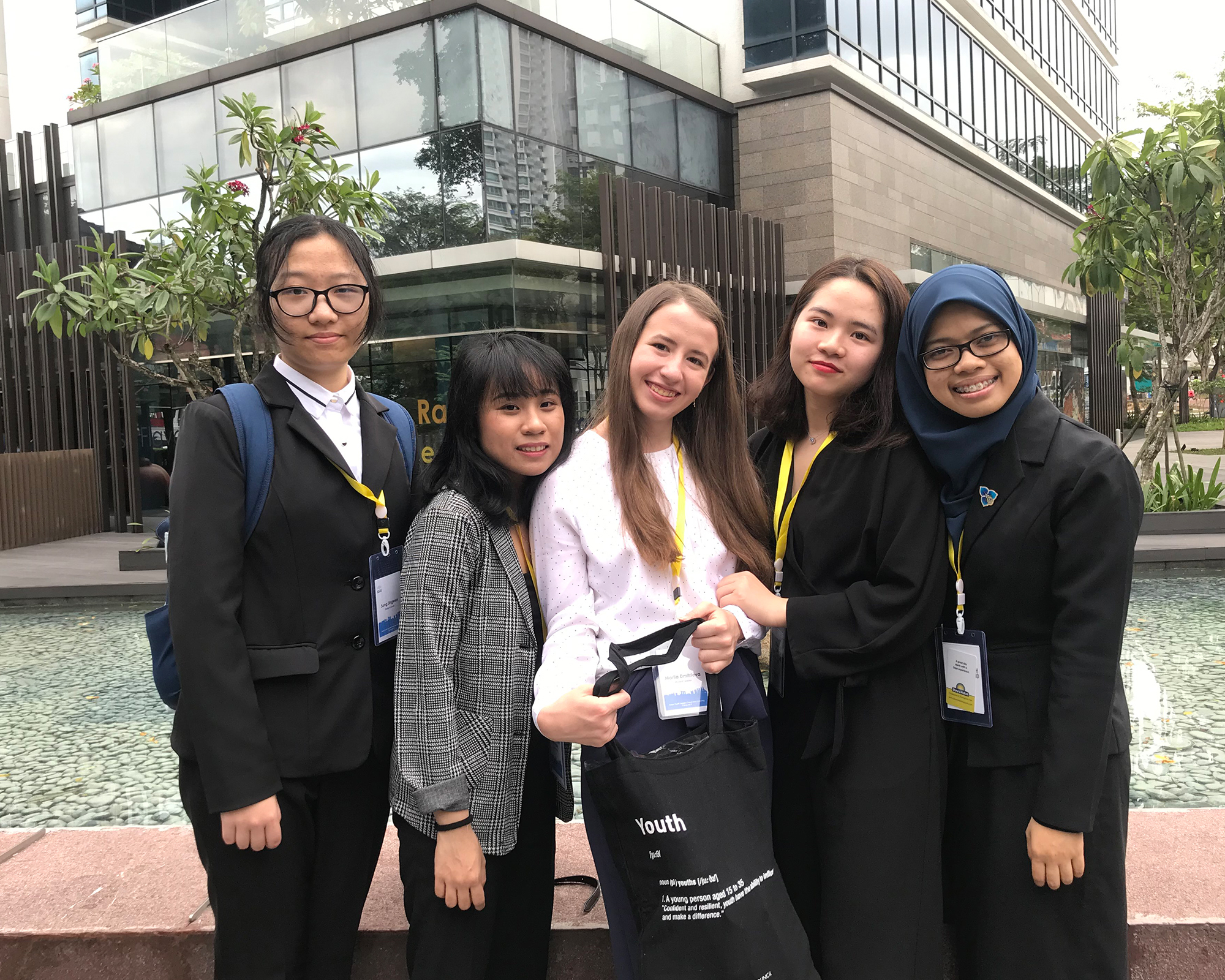 HEU students participate in leadership and learning camp in Singapore