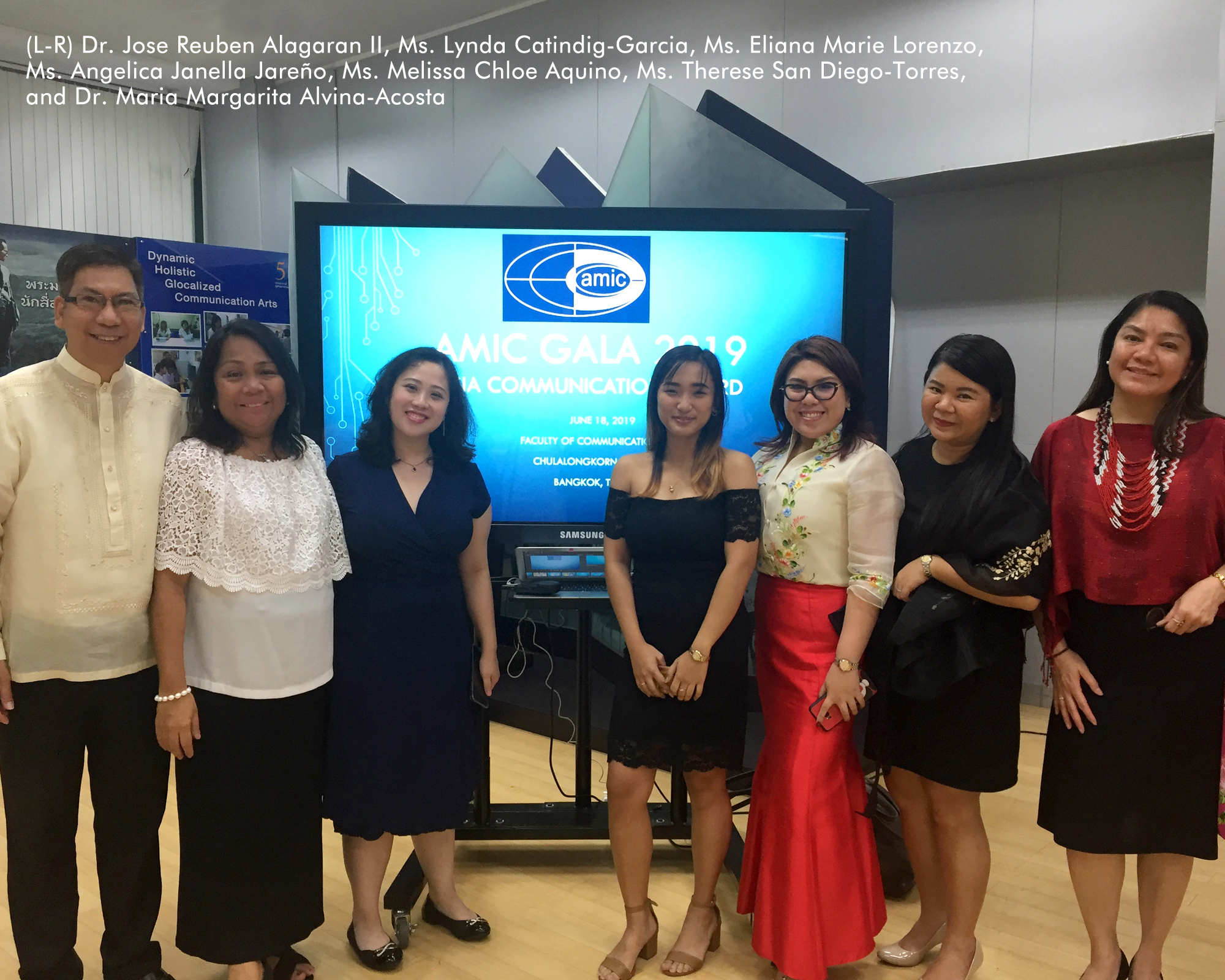Department of Communication faculty and graduates participate in the 27th AMIC Annual Conference in Bangkok, Thailand