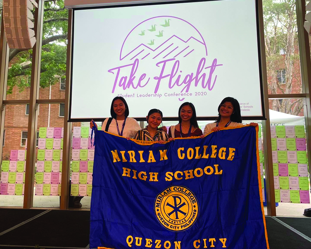 When Women Take Flight — A Glimpse of the Alliance for Girl Schools Australasia's Student Leadership Conference 2020