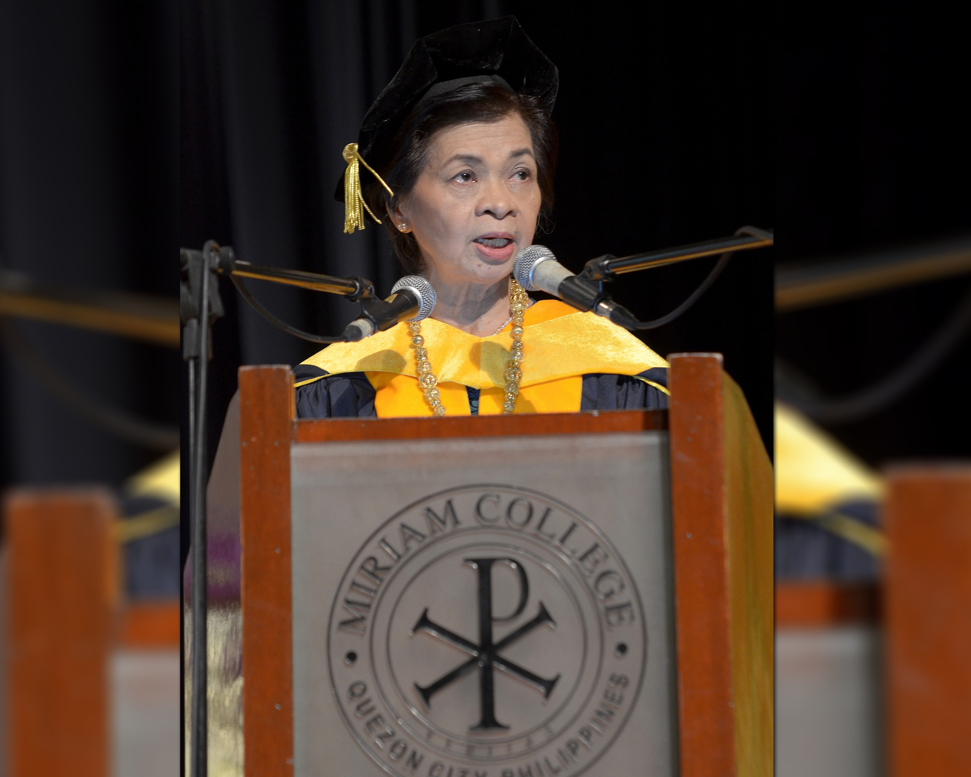Inaugural Speech |  Amb. Laura Q. Del Rosario, Ninth President of Miriam College