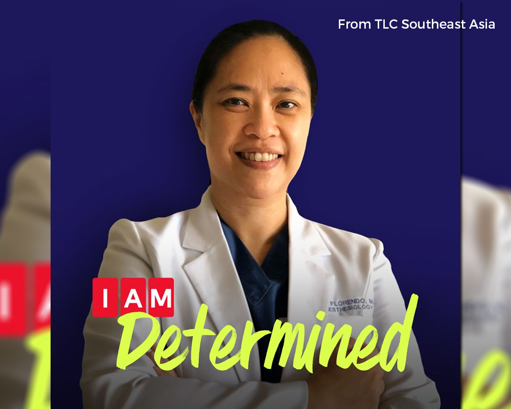 Alumna and COVID frontliner Dr. Joanna Florendo (GS '89, HS '93) featured by TLC Southeast Asia