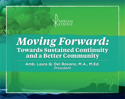 Moving Forward: Towards Sustained Continuity and a Better Community  |  Amb. Laura Quiambao-Del Rosario, MA, MEd