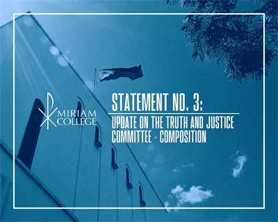 STATEMENT NO. 3: Update on the Truth and Justice Committee – Composition