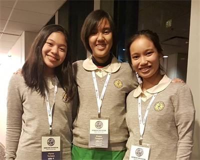 MC girls topped World Scholars Cup