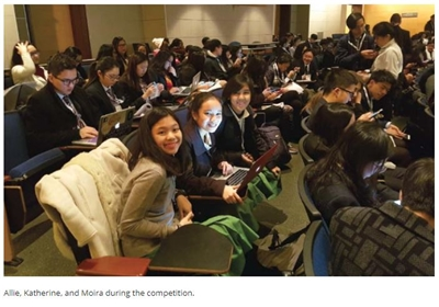The journey to Yale University | Triumph in an 'unlikely' competition | by Mary Katherine DJ San Miguel, Aleeza Moira Tiongson, and Alyssa Santana | Manila Bulletin