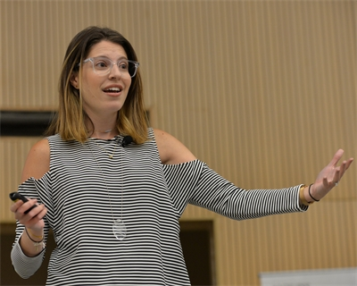 YouTuber, influencer Michelle Poler inspires students to face their fears