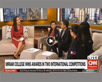 Filipino students shine in two international competitions. Miriam College was a big winner at the World Scholar's Cup in Kuala Lumpur and World Choir Games in South Africa. | CNN Philippines