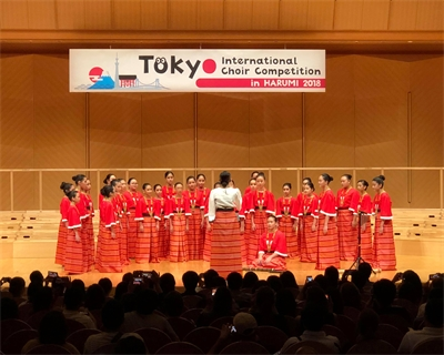Miriam College MS Chorus wins Gold, Silver prizes at Int'l Choir competition in Tokyo