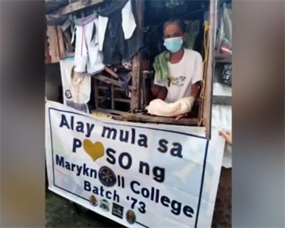 Our work was our prayer: ALAY MULA SA PUSO ng Maryknoll College Class '73