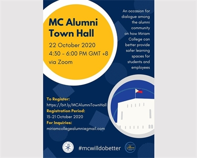 MC to hold Alumni Town Hall on Safe Spaces