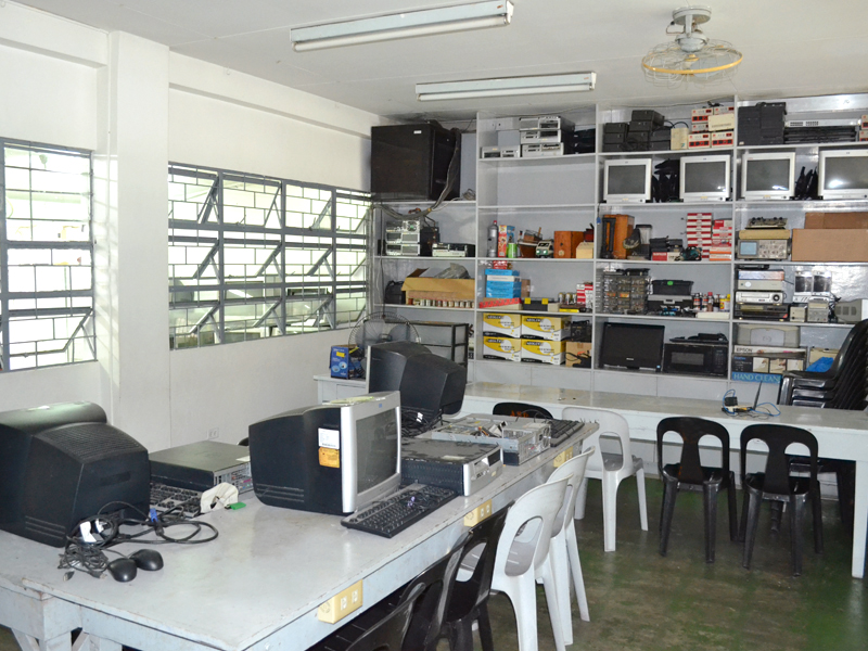 Electronic Products Assembly and Servicing Laboratory