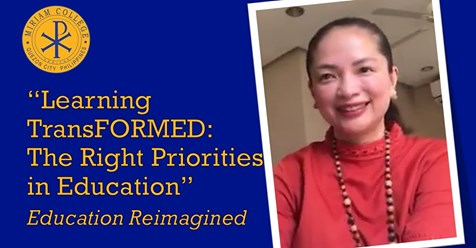 Learning TransFORMED: The Right Priorities in Education