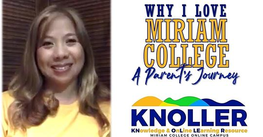 Why I Love Miriam College, A Parent's Journey