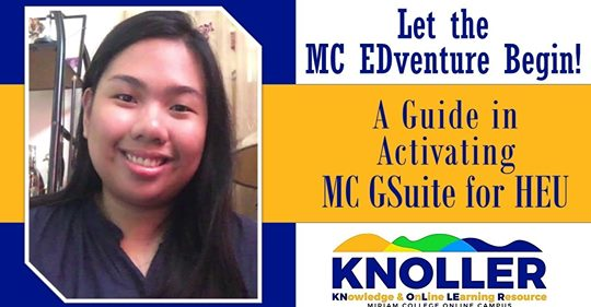 A Guide in Activating MC GSuite for HEU