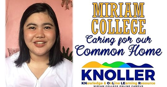 Miriam College, Caring for Our Common Home