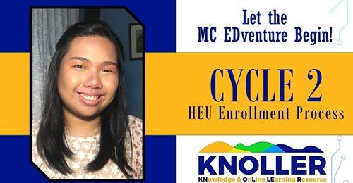 CYCLE 2 HEU Enrollment Process