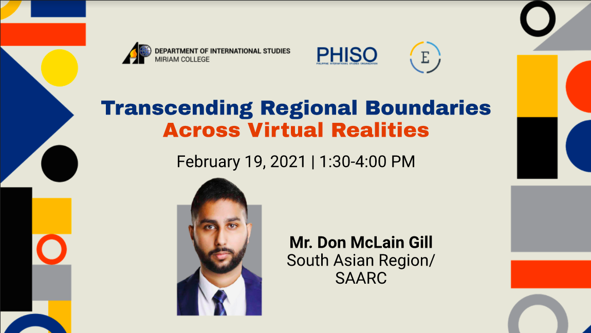 Transcending Regional Boundaries Across Virtual Realities: South Asia Region/SAARC