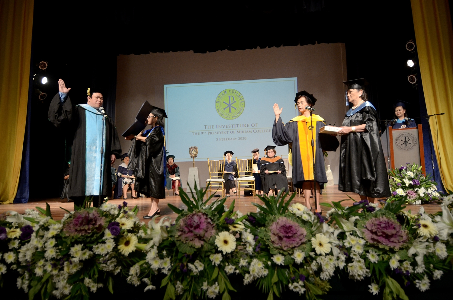 Administration of the Oath of Office |  Aldrin A. Darilag, Ph.D., RMT, RN Commissioner, Commission on Higher Education