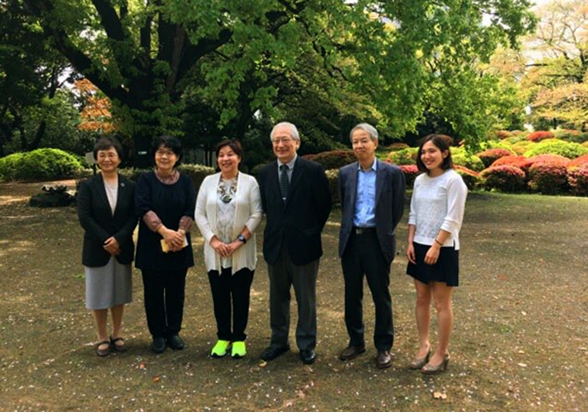 Dr. Lapus meets with heads of Japan colleges, universities to strengthen partnerships
