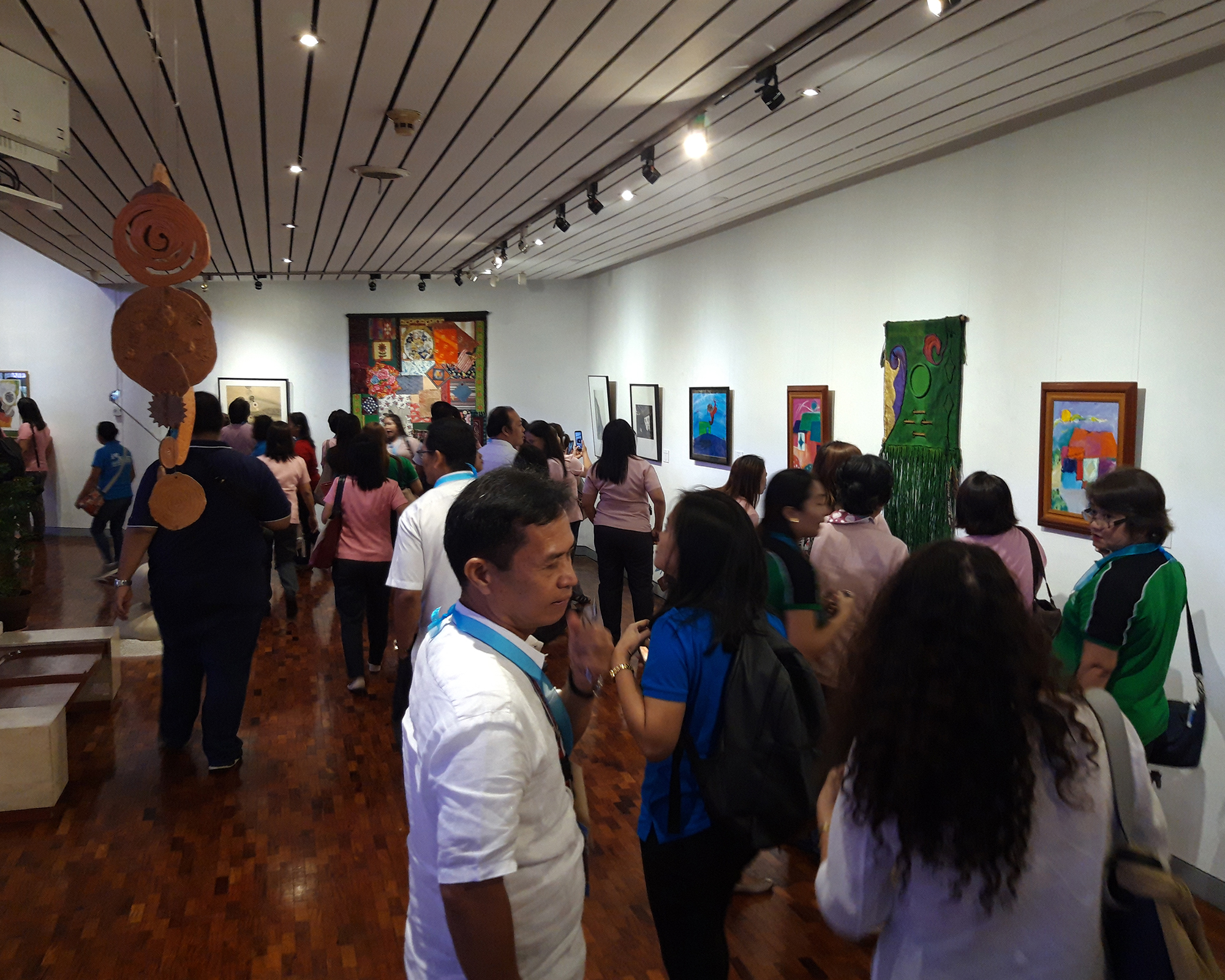 GSIS Museo ng Sining features GAWA art collection