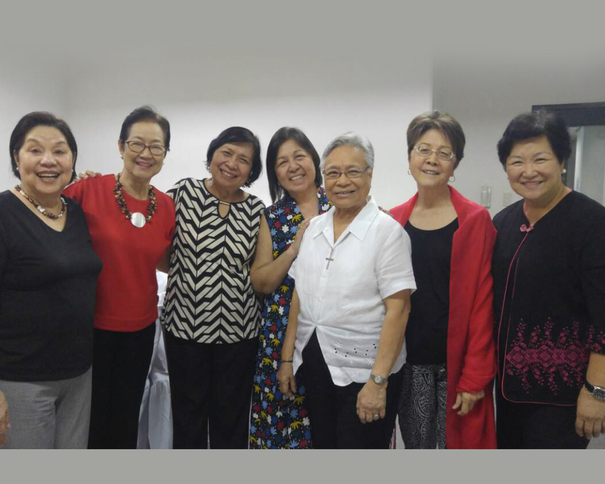 Sr. Teresita Perez, M.M. visits MC colleagues, MCN