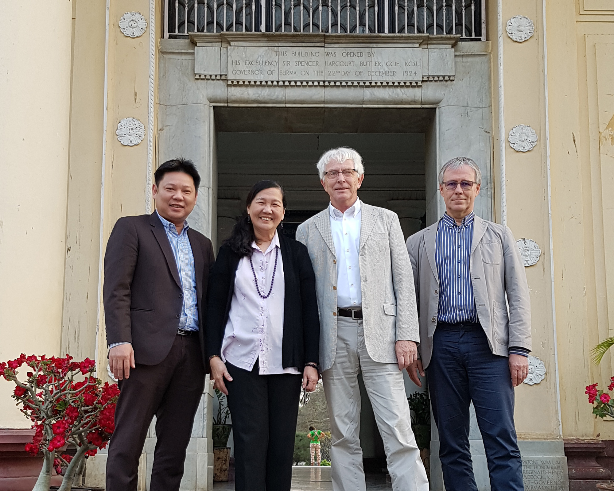 Dr. Baybay visits Myanmar universities