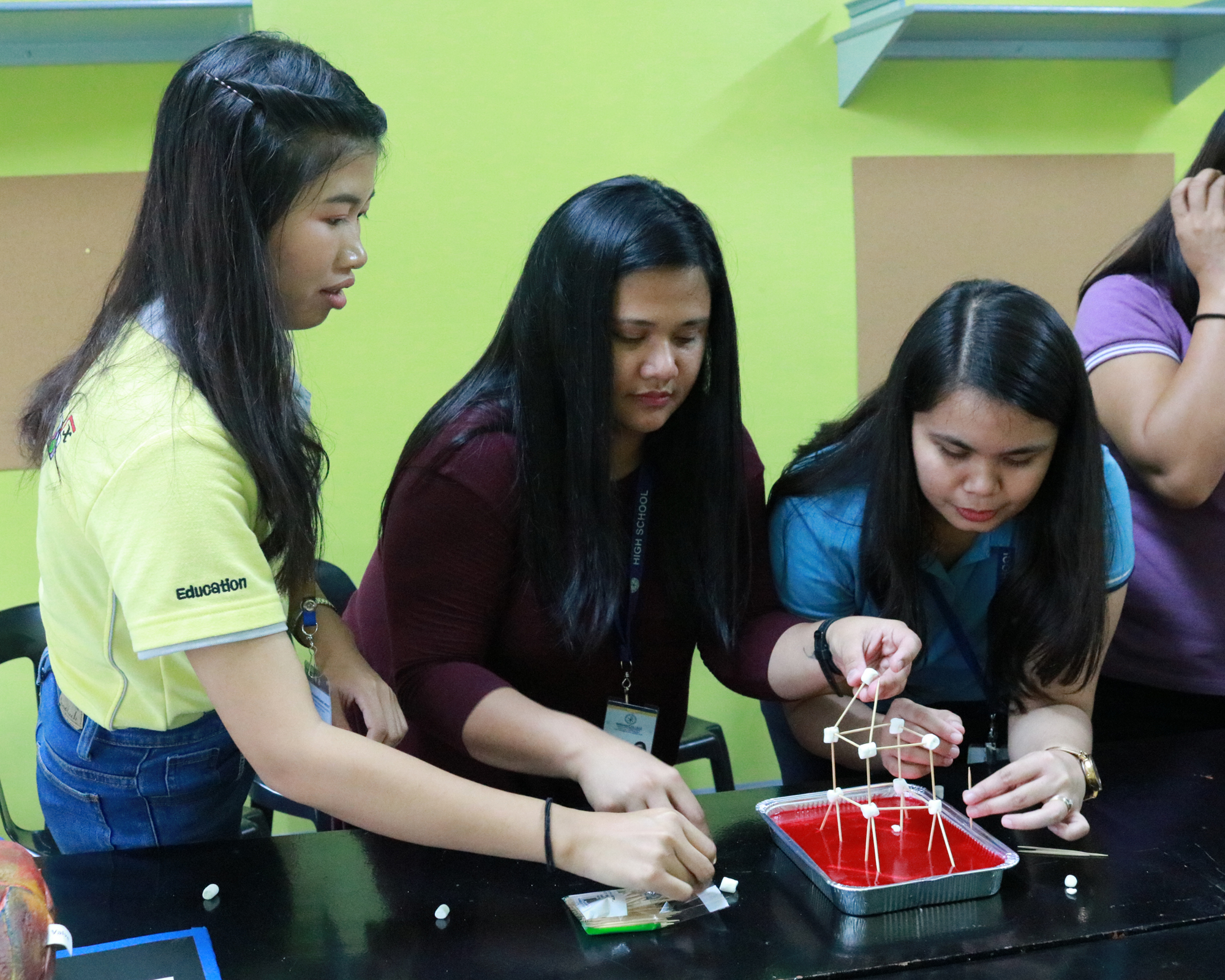 MCHS faculty mentor aspiring Science teachers from Thailand