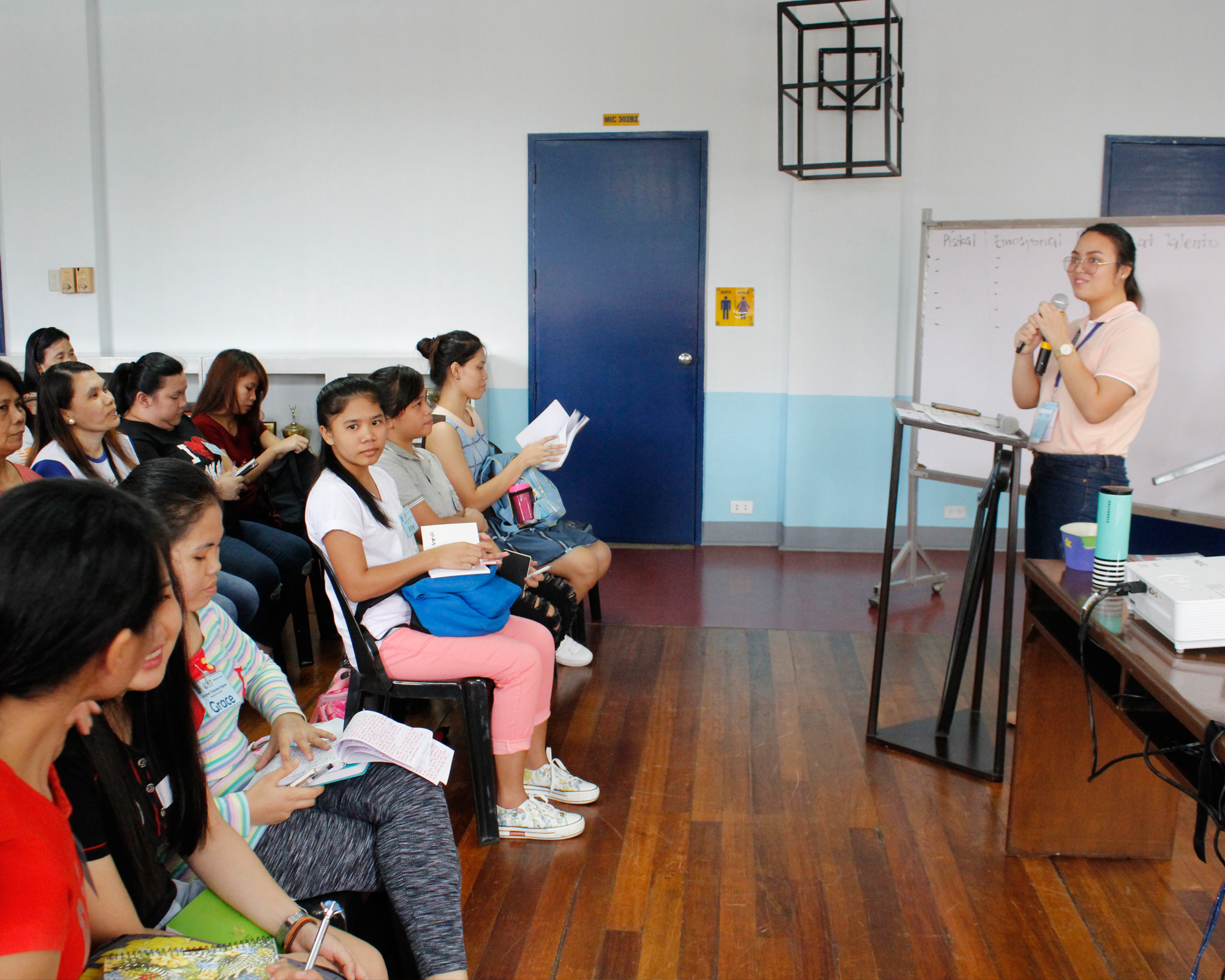 CSC conducts seminar for caregivers