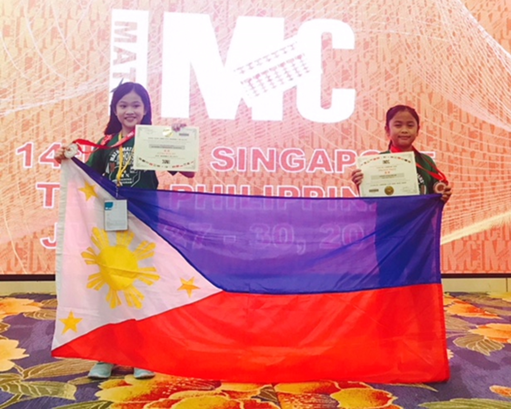 MC LS young math achiever shines in Singapore, Indonesia